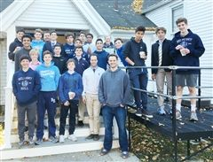 3A Soccer team with coaches Steffey, Fast, and Fritz '93.