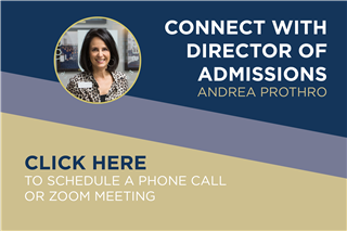 Connect with the Director of Admissions