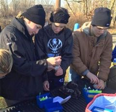 ND's Environmental Club at Bristol Marsh Nature Preserve