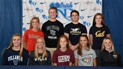 Notre Dame High School Fall Signing Day 2017