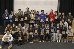 Winter Athletic Award Recipients