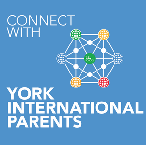 York International Parents Button
