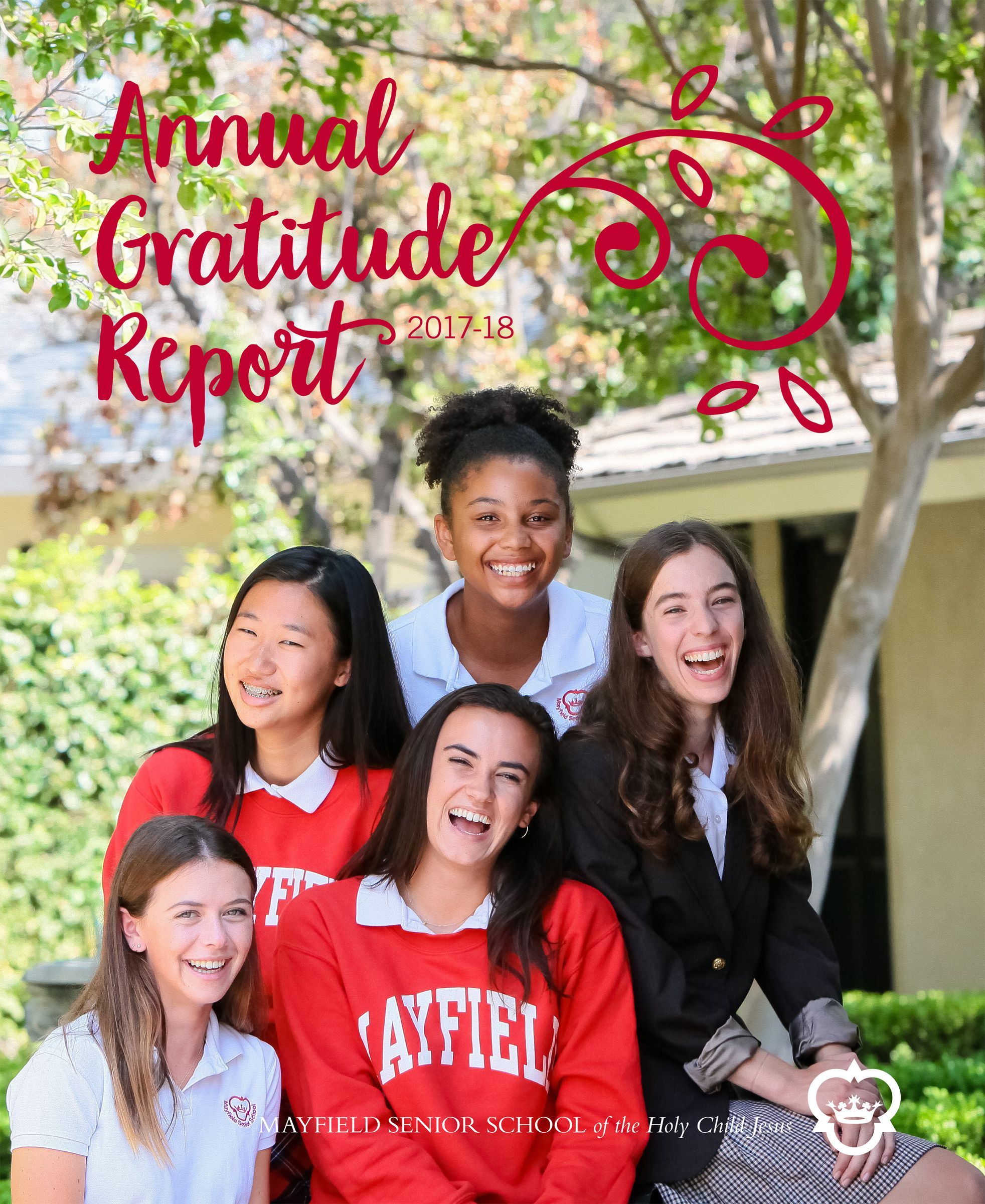 View our 2017-18 Annual Gratitude Report
