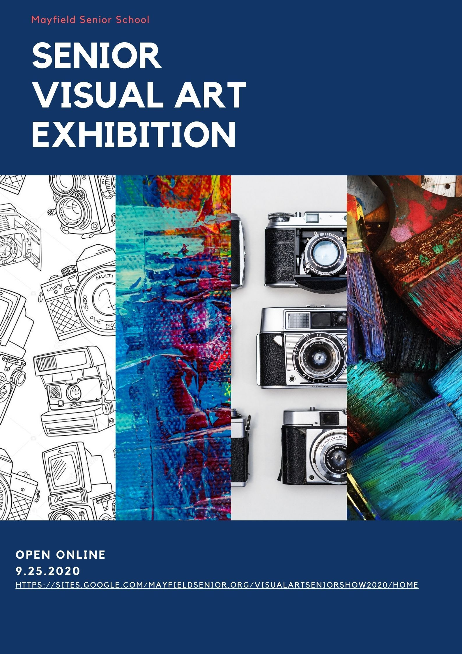 Visit the Senior Visual Arts Exhibition!