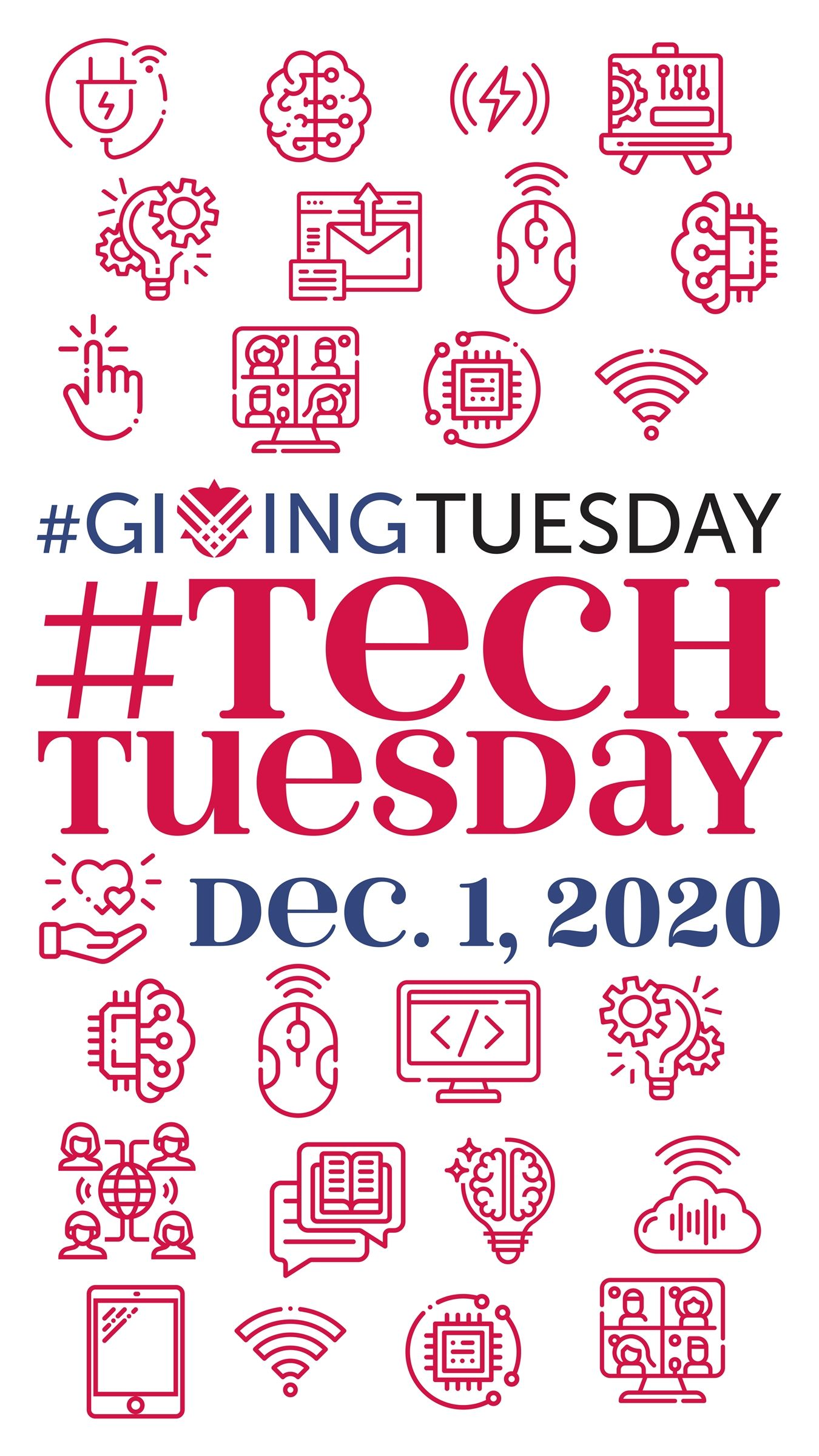 Help us raise $50,000 in one day on #TechTuesday!