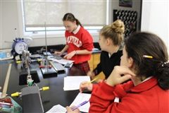 Taking Conceptual Physics in freshman year inspires curiosity and confidence in Mayfield students