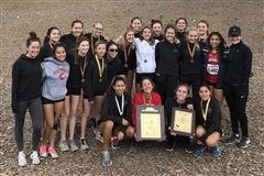 The Cubs Cross Country team took 2019 Prep League honors at Pierce College.!