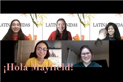 The five co-heads of Latinas Unidas