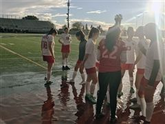 Soggy and sunny soccer conditions at the Duarte Tournament