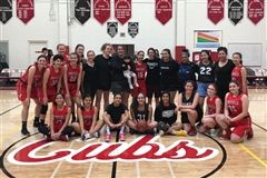 Alums and current Cubs get together for some holiday hoops