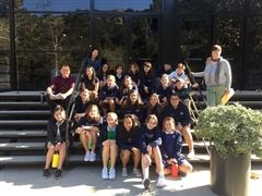 Junior Art Honor Society students toured the ArtCenter College of Design