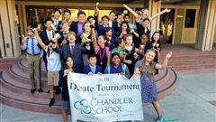 Chandler's Debate Team