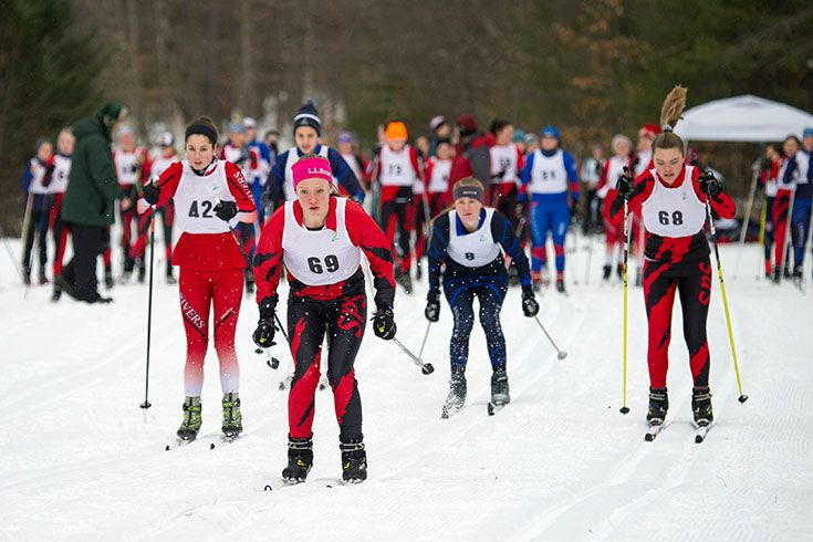 Girls Nordic Skiing