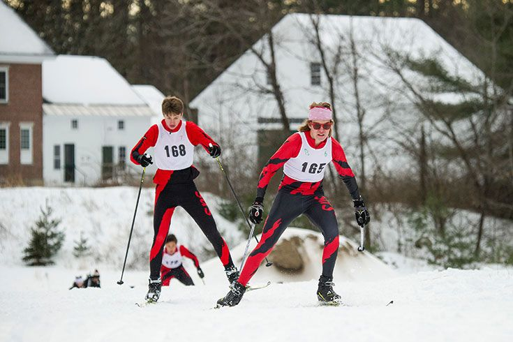 Boys Nordic Skiing