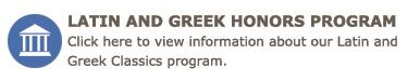 Latin and Greek Honors Program
