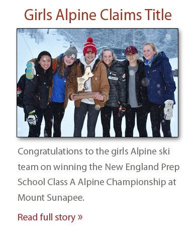 Girls Alpine Claims Title