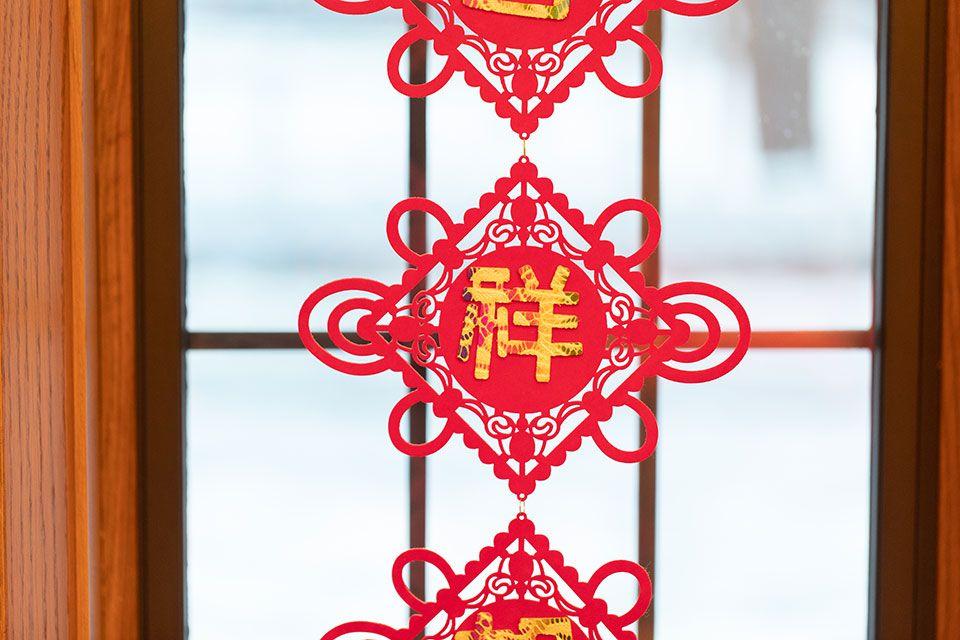 chinese door decoration