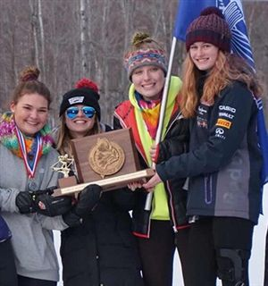 FA Girls' Ski Teams Sweep Nordic and Alpine Maine Class A State Ski Championships