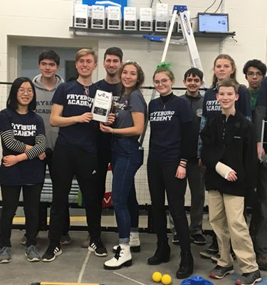 Fryeburg Academy's Robotics Team Headed to the State Championship