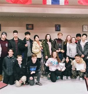 FA's Math Team Captures Regional Title