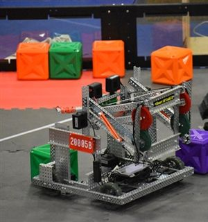 Fryeburg Academy Hosts First VEX V5 Robotics Competition