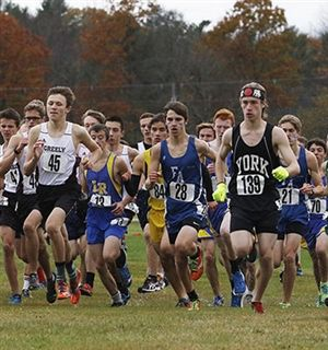 FA Cross-Country Runners Emily Carty and Alfie Walker Run Personal Bests at Class B State Meet