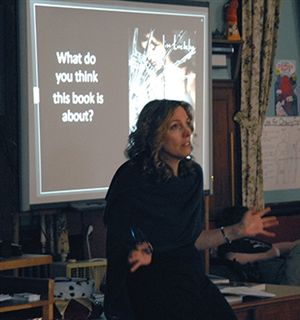 Lisa Luedeke '81 Visits Campus to Present Debut Novel and the Art of Storytelling
