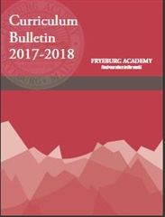 Curriculum Bulletin 2017 - 2018