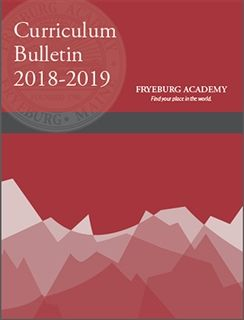 Curriculum Bulletin 2018 - 2019