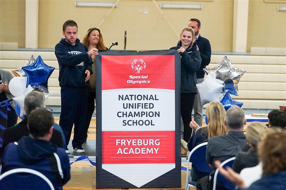 Fa Honored As A National Banner Unified Champion School Fryeburg