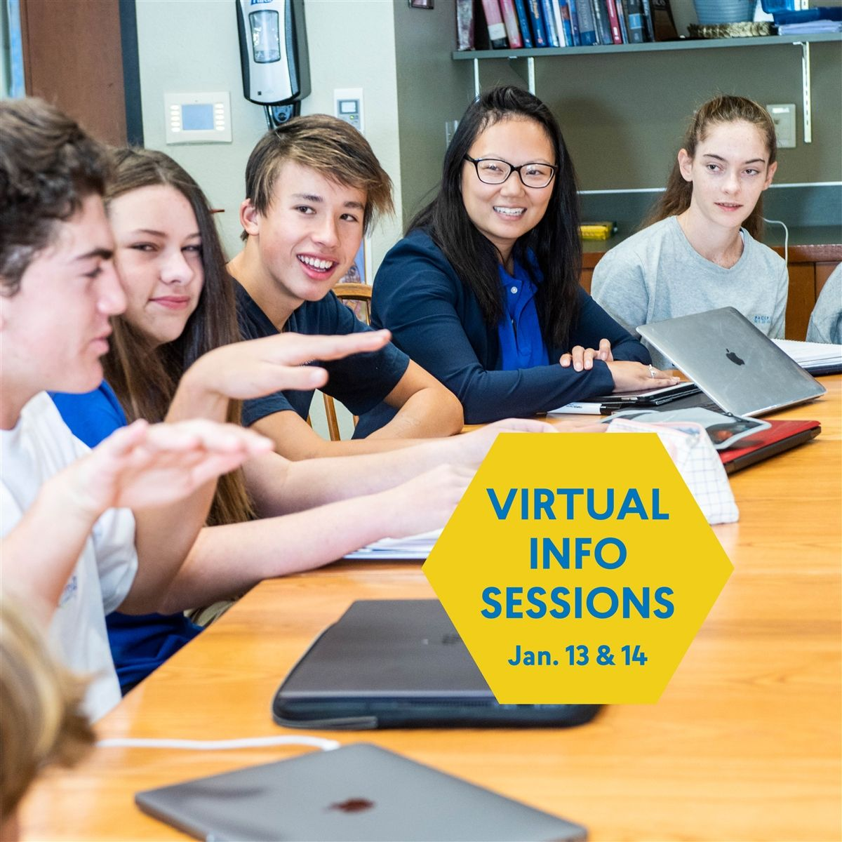VIRTUAL INFO SESSIONS