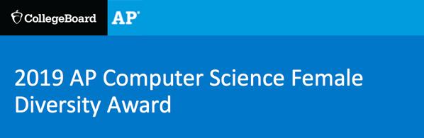 College Board Female Diversity Computer Science Award