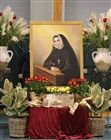 St. Philippine Duchesne portrait at school prayer service
