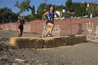"They hurdled hay bales and climbed the hill nicknamed ""Agony Hilly."""