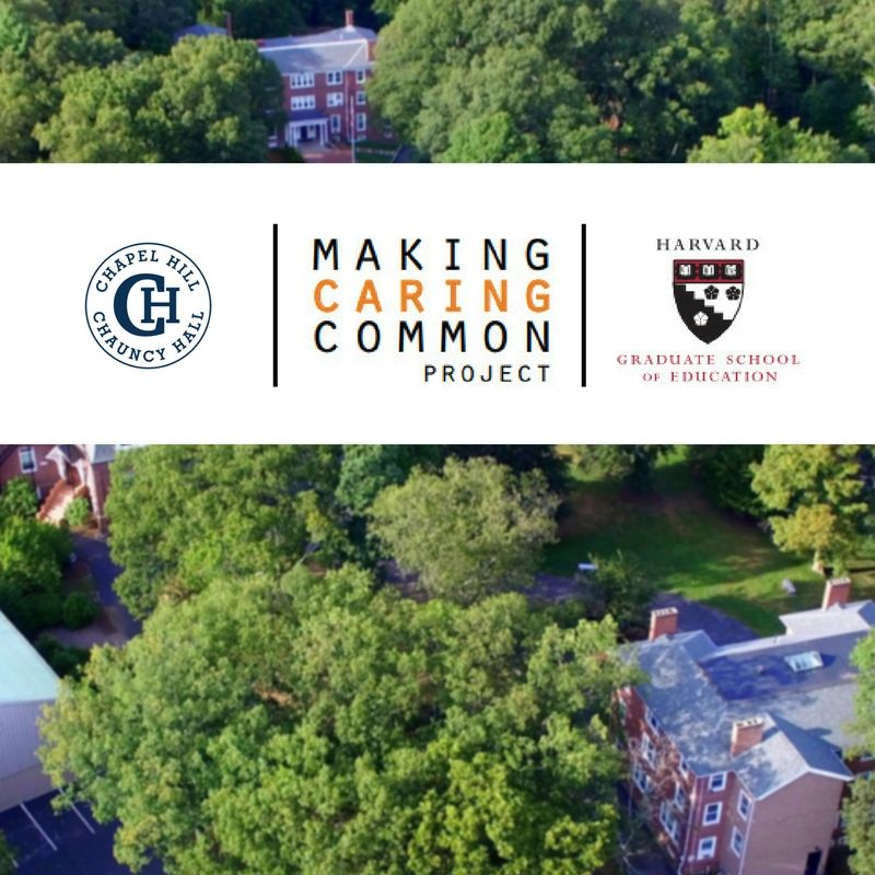 CH-CH Partners with Harvard to 'Make Caring Common'