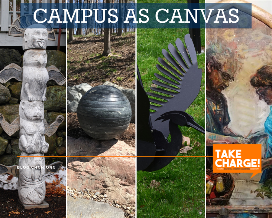 Art, Nature, and Education Intersect with CH-CH's 'Campus as Canvas'