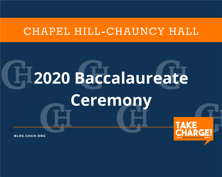 Chapel Hill-Chauncy Hall's 2020 Baccalaureate Ceremony