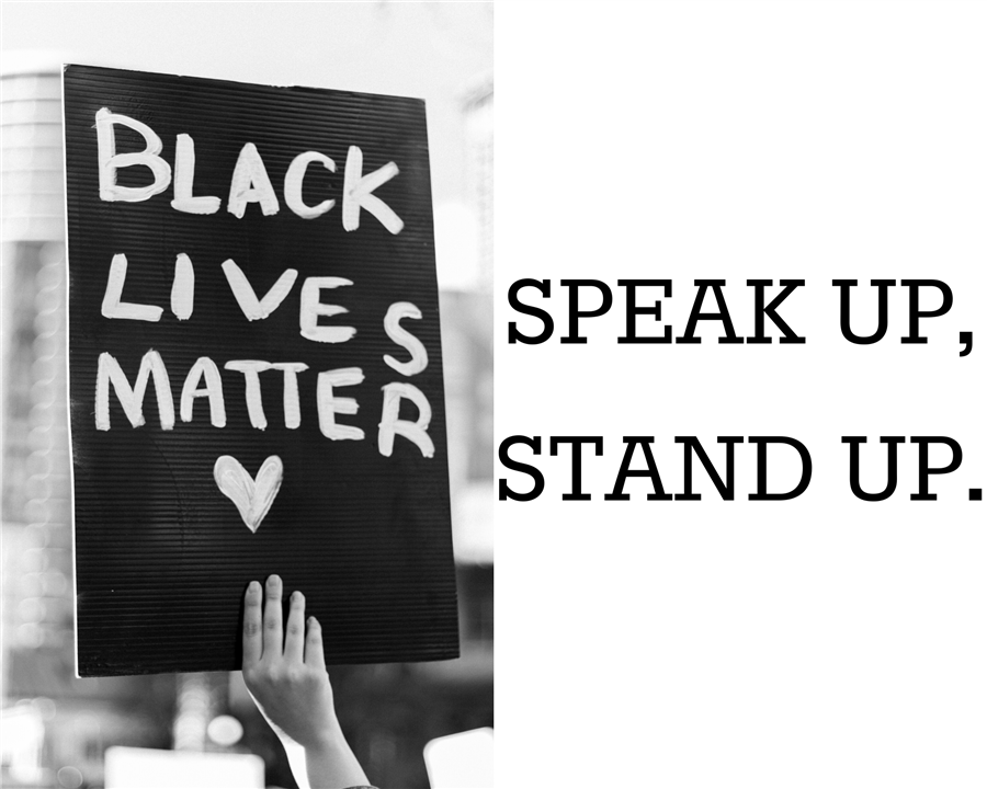 Speak Up, Stand Up.