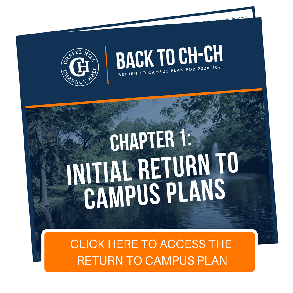 Back to CH-CH: Chapter 1 - Initial Return to Campus Plans