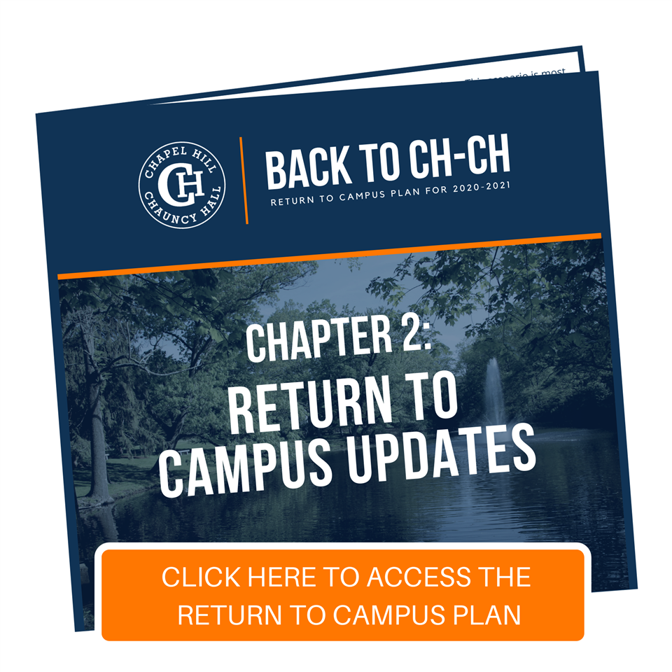 Back to CH-CH: Chapter 2 - Return to Campus Updates