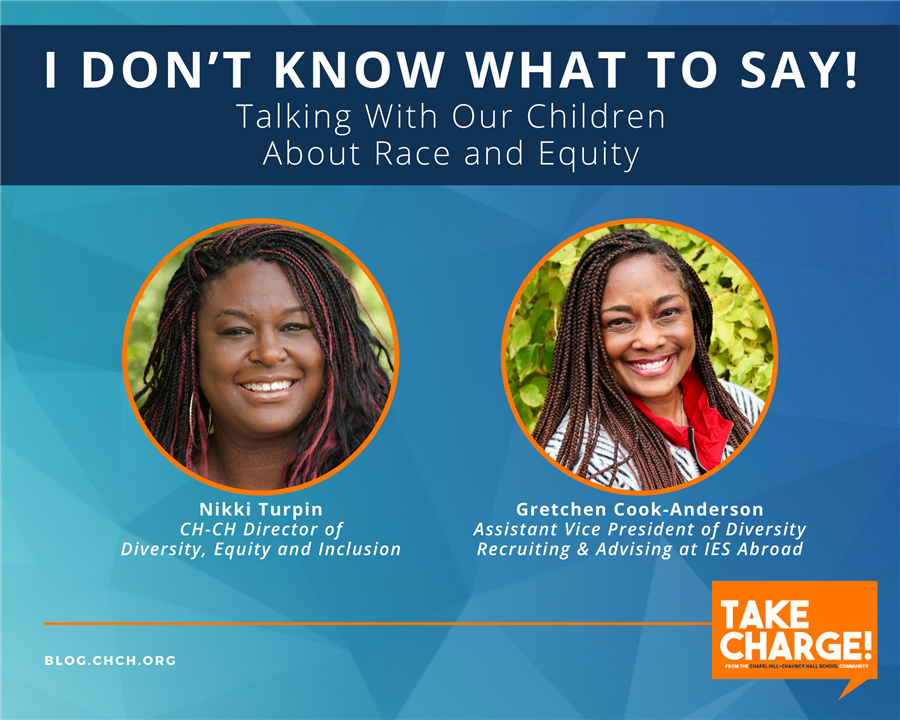 I Don't Know What to Say: Talking to Children About Race and Equity