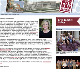 Summer 2019 Alumni Newsletter