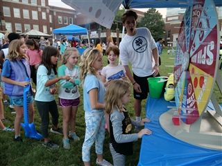Fall Fest includes fun carnival games.