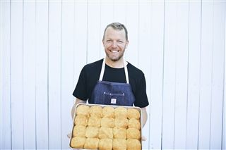 Restaurateur and USN parent Karl Worley will return to teach his popular biscuit making class.