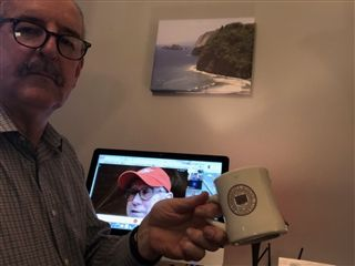 Like students and faculty, Director Vince Durnan has spent time learning how to navigate Zoom.
