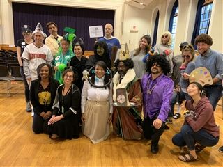 Halloween at USN is a big deal for faculty and students alike.