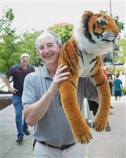 Director Vince Durnan is ready for the Tiger Give Back Challenge on Thursday, March 28.