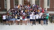 The Class of 2019 wore college T-shirts on Wednesday, May 1.