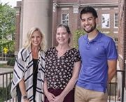 Dance Teacher Caren Lyons, Spanish Teacher Kate Sullivan, and College Counselor Jesse Chavez