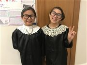 Seen at Halloween at USN 2018: U.S. Supreme Court Justice Ruth Bader Ginsburg
